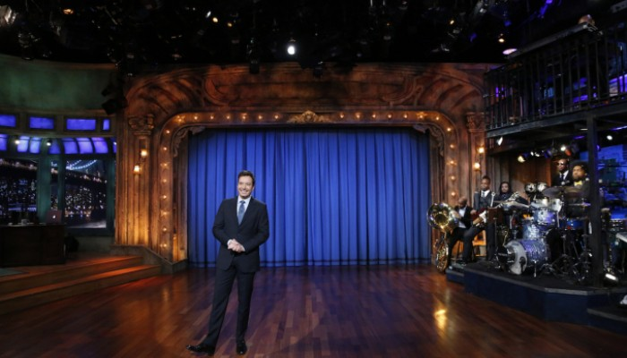 LATE NIGHT WITH JIMMY FALLON -- Episode 963 -- Pictured: Jimmy Fallon -- (Photo by: Lloyd Bishop/NBC)